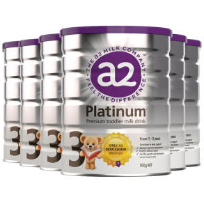 【PD新西兰药房】A2 白金版婴幼儿奶粉 900g 3段 6罐包邮装